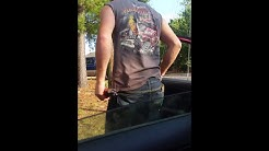 Crazy woman freaks out....Taylorsville NC