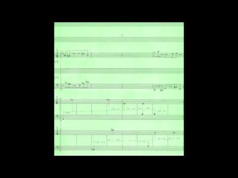 Quartets in Pairs, with score