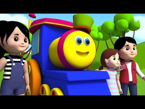 Bob o trem | Sobre as montanhas | rima de berçário | crianças rimas em português | Over The Mountain