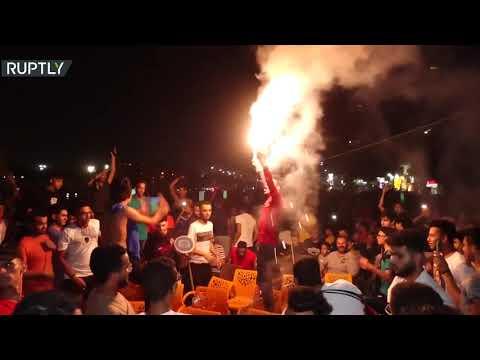 احتفالات جماهير الأهلي المصري بعد فوز الفريق في دوري أبطال إفريقيا  - 12:55-2021 / 7 / 18