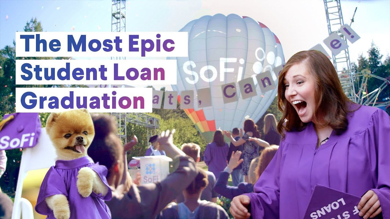 The Most Epic Student Loan Graduation!