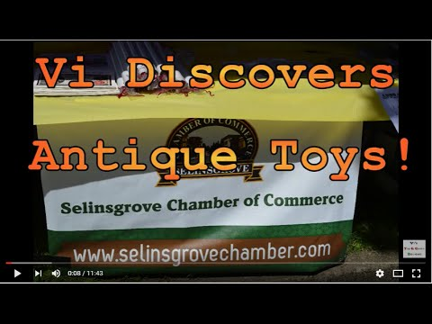 Vi Discovers Antique Toys - Antiques On The Avenue