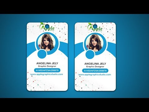 Design ID Cards & ID Badge - Adobe Photoshop Tutorial Mp3
