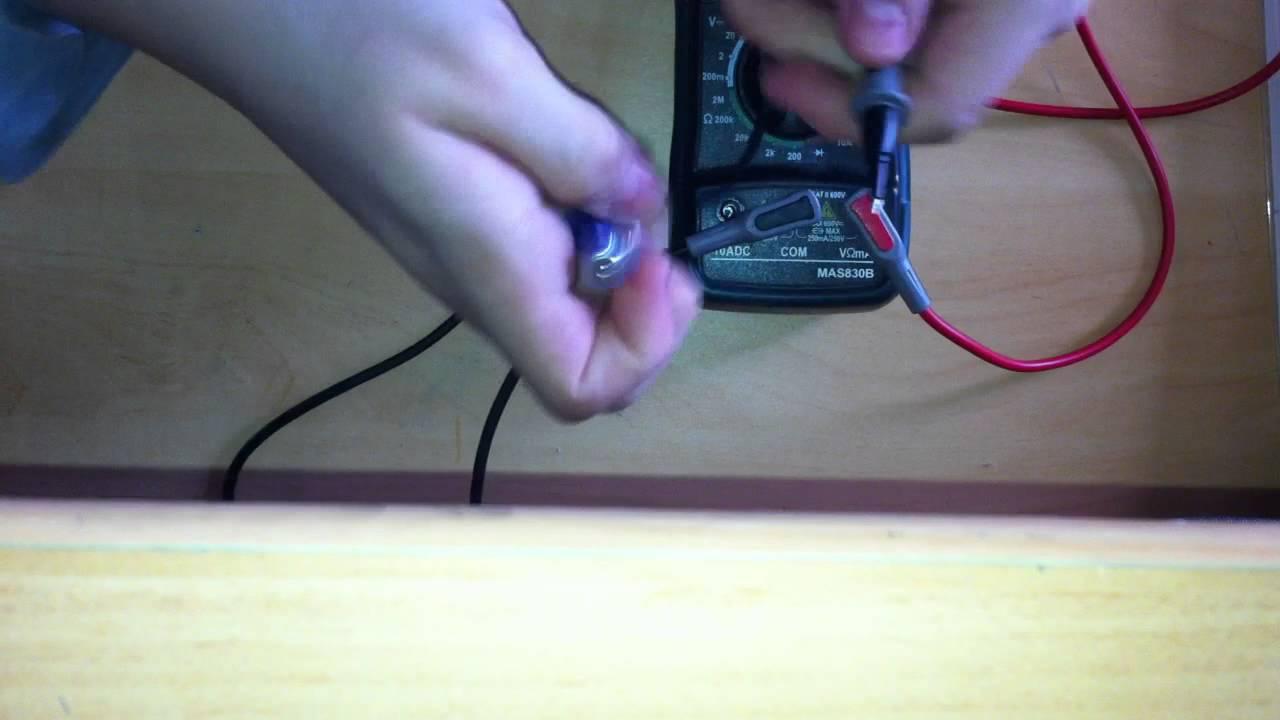 Comment Tester Une Pile Astuce Bricolage Et Electricité