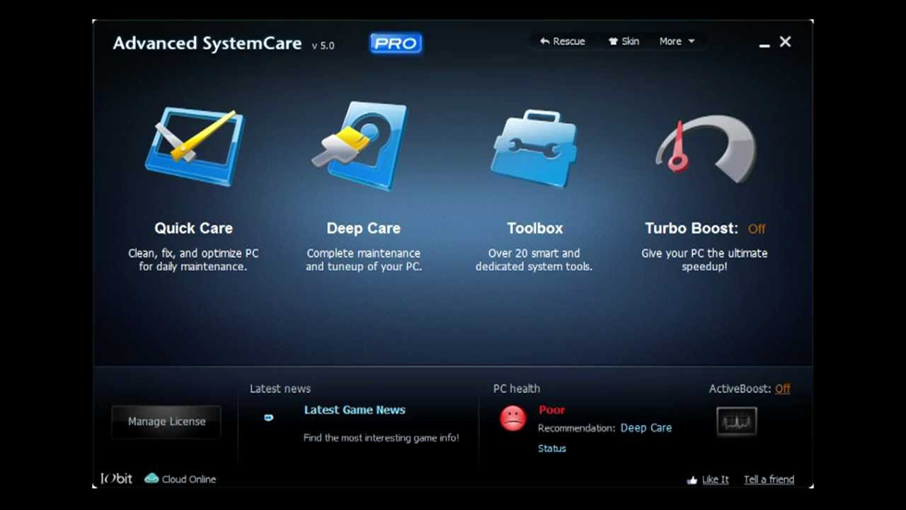 advanced systemcare 7.1 activation key
