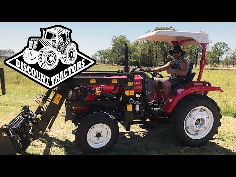 Discount Tractors - Tractor Delivery to Remote Property