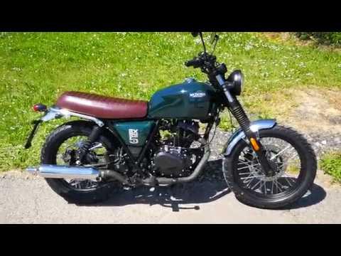 Brixton Bx 125 Une Moto 125 Cm3 Accessible Et Bourree De Charme