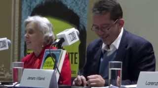 ELENA PONIATOWSKA EN LA PRESENTACIÓN DEL LIBRO LA CAÍDA DEL TELEPRESIDENTE #1