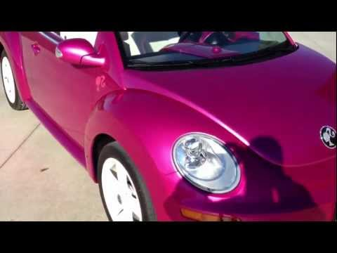 2010 Volkswagen Beetle Convertible. Barbie Cruiser Replica.