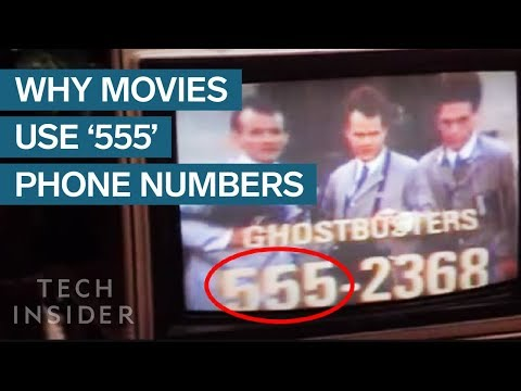 """Why Movie And TV Show Phone Numbers All Use """"555"""""""