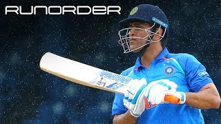 Runorder: Is it time for India to look past Dhoni in T20Is?