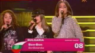 Junior Eurovision Song Contest 2007: Bulgaria - Bon-Bon - Bonbolandiya
