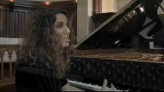 Racha Arodaky joue les Suites de Haendel (1e partie)