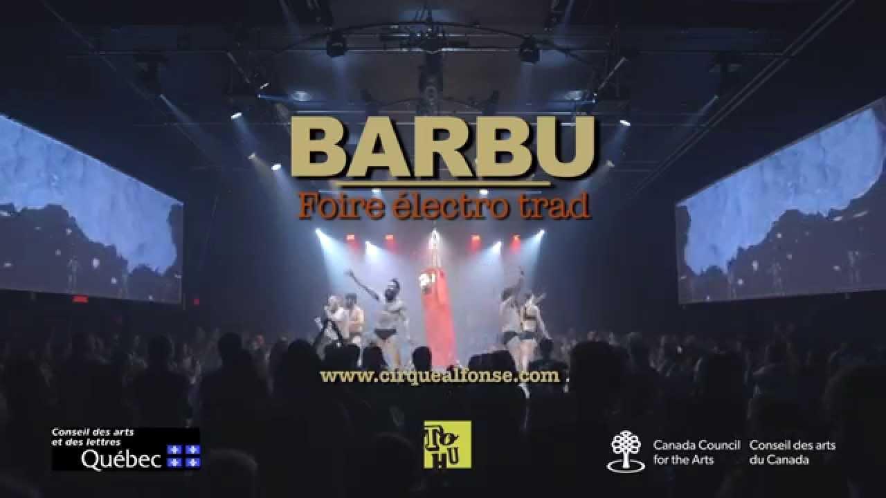 BARBU foire electro trad - Teaser live