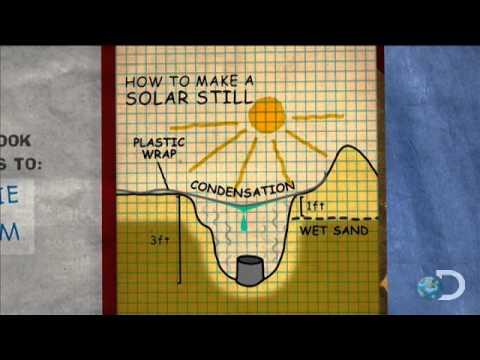 Jamie's Solar Still | MythBusters
