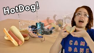 ROBOT SECURITY SYSTEM *HOT DOG*