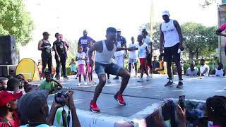 Unza Shows How To Dance To Dope Boys
