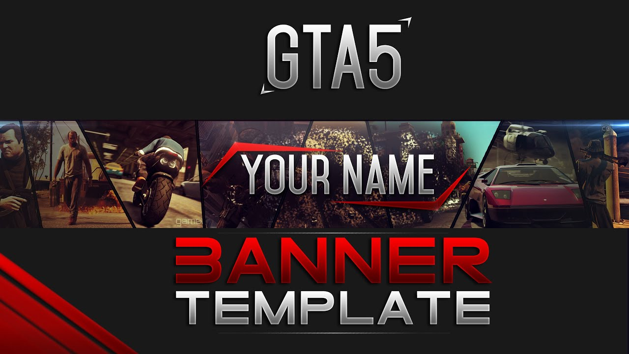 gta 5 banner template free gta v download youtube. Black Bedroom Furniture Sets. Home Design Ideas