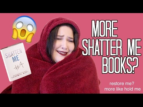 THREE MORE SHATTER ME BOOKS??? | Reaction (CC)