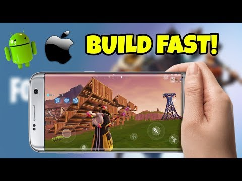 HOW TO BUILD FAST ON FORTNITE MOBILE   ANDROID & iOS