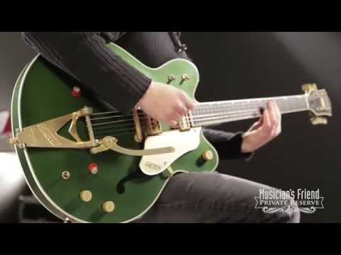 Gretsch Guitars Custom Shop Country Gentleman '62 Relic Electric Guitar Cadillac Green