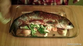 Рыба Белый Амур: простой рецепт как вкусно запечь рыбу | Вкуснейшая запеченная рыба