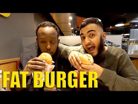 HALAL DINING || Fat Burger ep.22