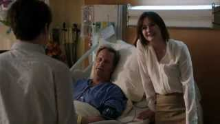 """HBO The Newsroom EP10 """"Will, Mac, and Jim in the hospital"""