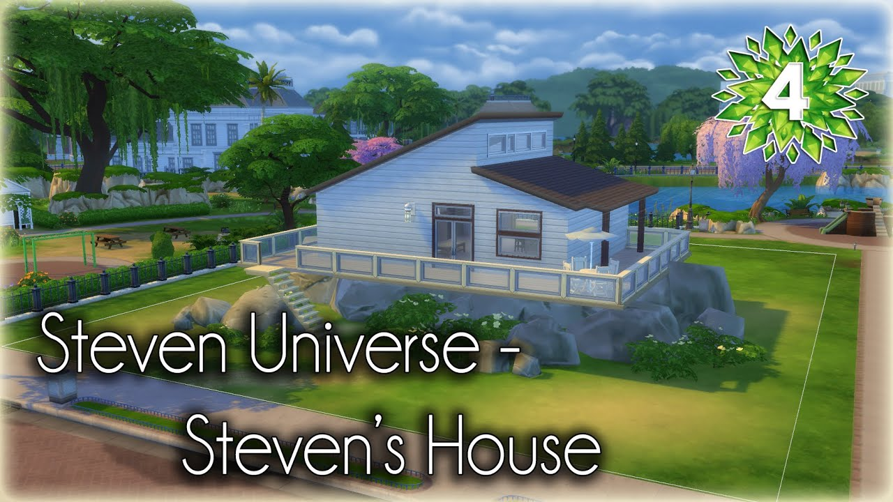 The Sims 4 Speed Build Steven Universe S House Part 1