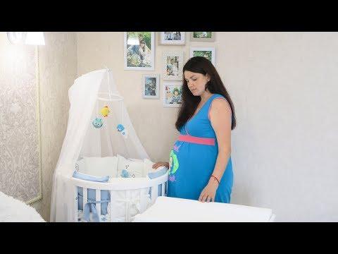 VLOG : Все для Ванечки /Наша кроватка /Покупки за месяц до родов/  Мама Вика