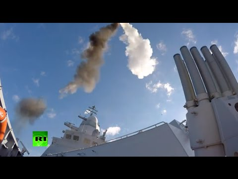 Missile Launching: Russian Navy drills in the Baltic Sea