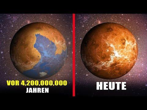 Wann gab es Leben auf der Venus und wo ist es Geblieben?