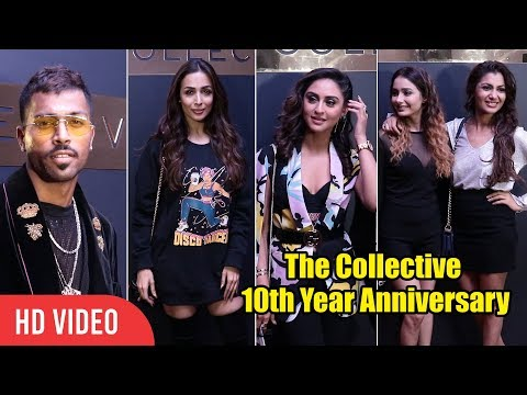 UNCUT - The Collective 10th Year Anniversary | Hardik Pandya, Malaika Arora, Krystle, Sriti Jha