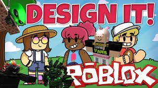 The FGN Crew Plays: ROBLOX - Design It! (PC)