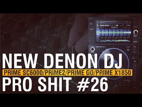 Что нового? Denon DJ SC6000 Prime, PRIME GO, Prime 2 X1850, NAMM 2020