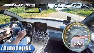 Mercedes AMG GLC 63 S 4.0 V8 BiTurbo AUTOBAHN Onboard by AutoTopNL