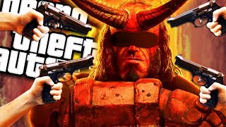 The NEW HELLBOY gets KID NAPPED MOD (GTA 5 PC Mods Gameplay)
