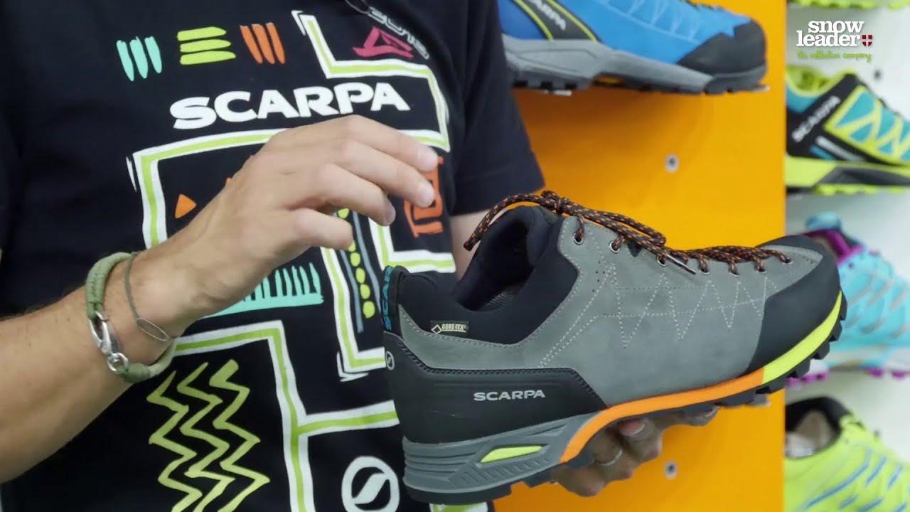 3d018132eae6 Scarpa : Zodiac GTX - Chaussure de randonnée - Snowleader.com - YouTube