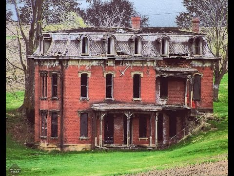 Urban Exploration:  Abandoned Mudhouse Mansion - Lancaster, Ohio