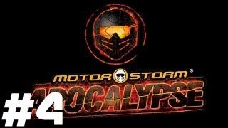 "MotorStorm: Apocalypse - Mash ""The Rookie"" Pt.4 || PS3 || Green Tremor, Red Big One"