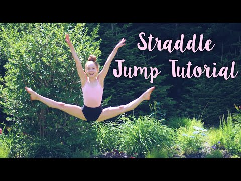 How To Do + Improve A Straddle Jump
