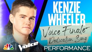 """Kenzie Wheeler Sings Tracy Byrd's """"The Keeper of the Stars"""" - The Voice Finale Performances 2021"""