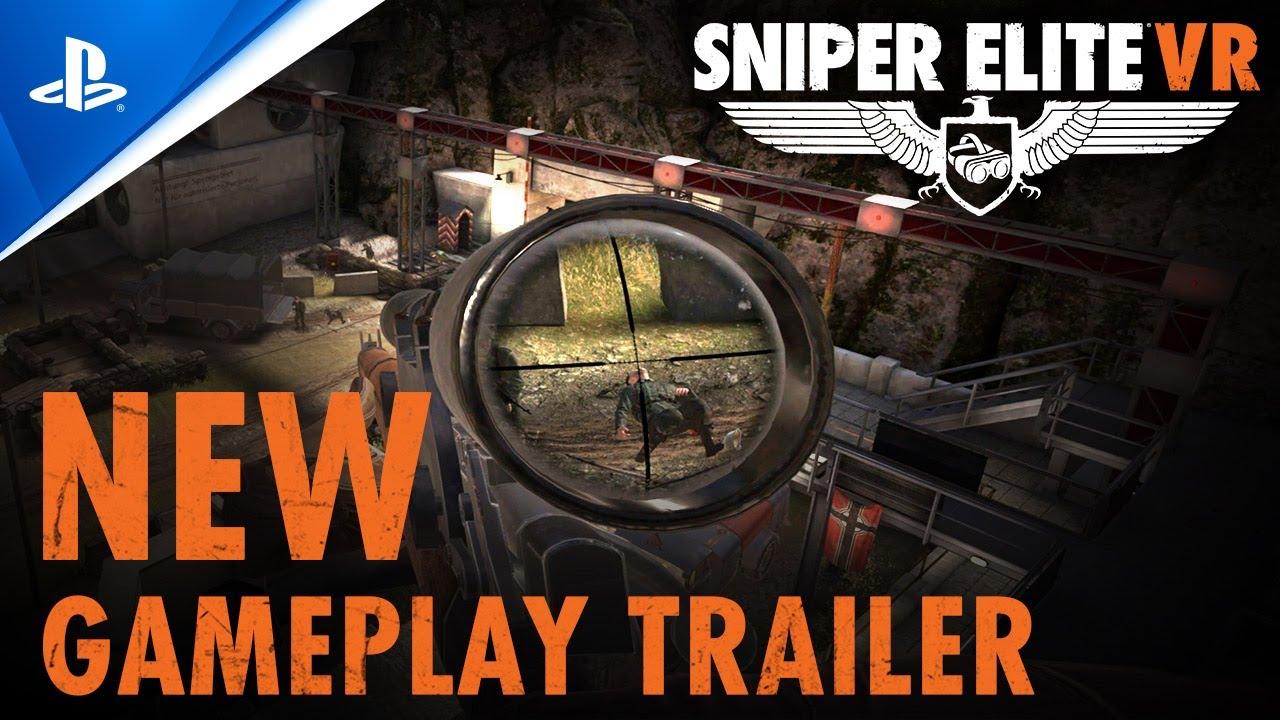 Sniper Elite VR – New Gameplay Trailer | PS VR