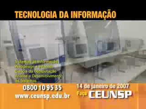 Cursos de Tecnologia da Informação T.I. do CEUNSP de YouTube · Duração:  16 segundos