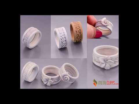 How To Make A Metal Clay Ring With The RingMaster System