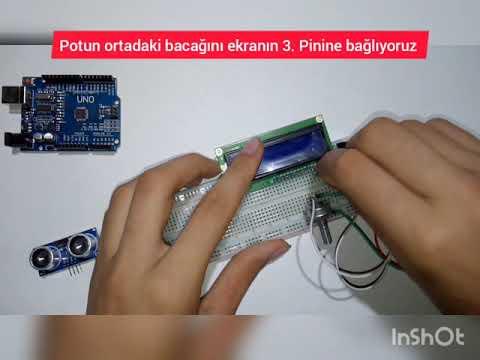 Arduino dijital metre