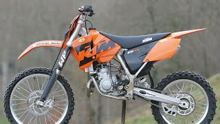 2005 KTM 85sx review+startup!