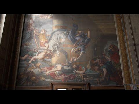 Delacroix's Murals
