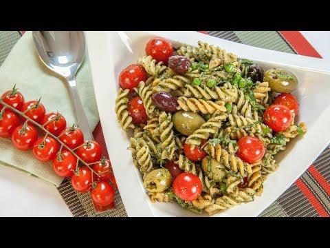 How to Make a Pasta Salad - Pesto Fusilli Pasta Salad
