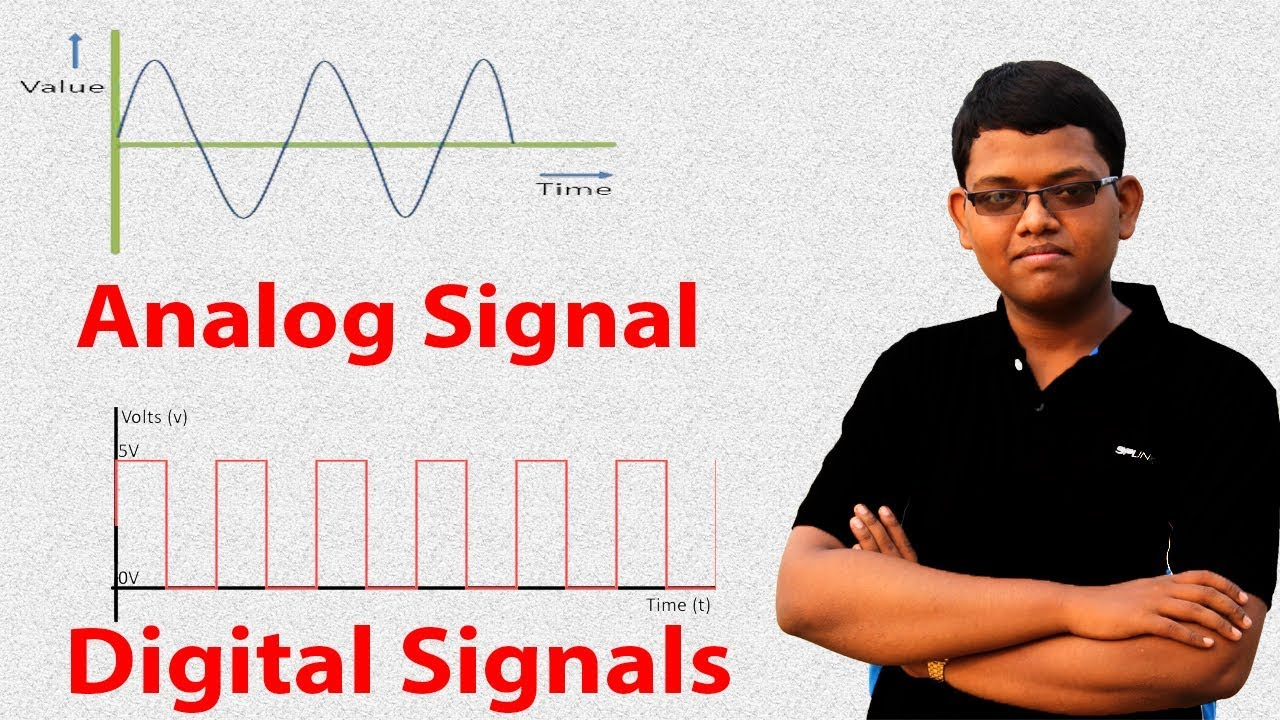 difference between digital and analog signals Discrete versus continuous signals the main feature that distinguishes digital from analog computers is the nature of the signals digital signals have two.